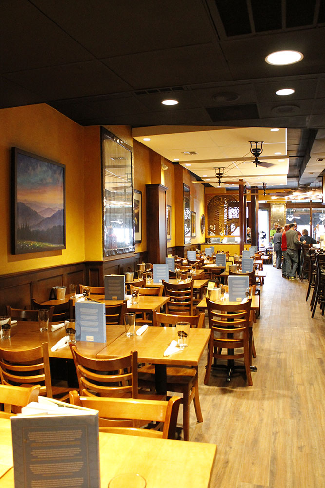 The original Tupelo Honey Café located in the heart of downtown Asheville.