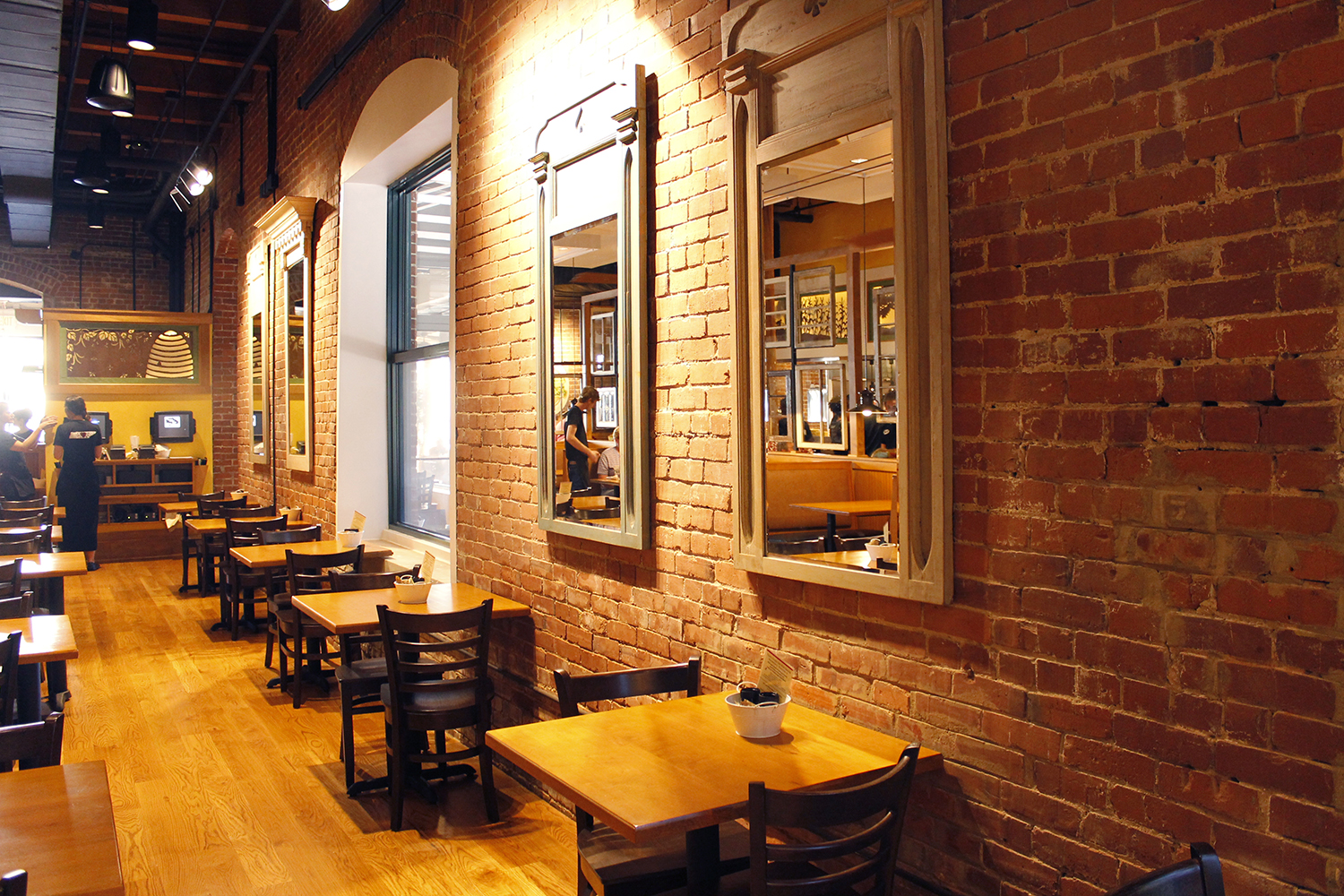 Our Dining room and patio are the perfect compliment to our southern food for the soul.