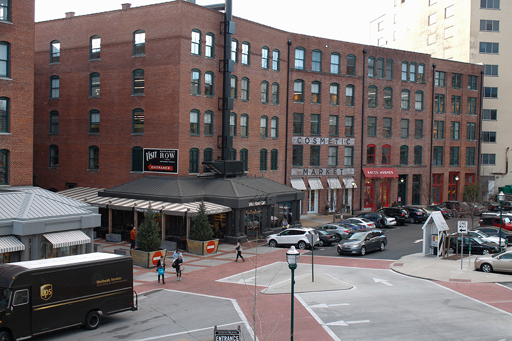 We are located in the heart of Warehouse Row in Downtown Chattanooga.
