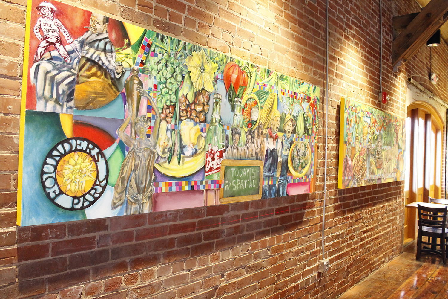 Local art is important to all Tupelo Honey Cafes.