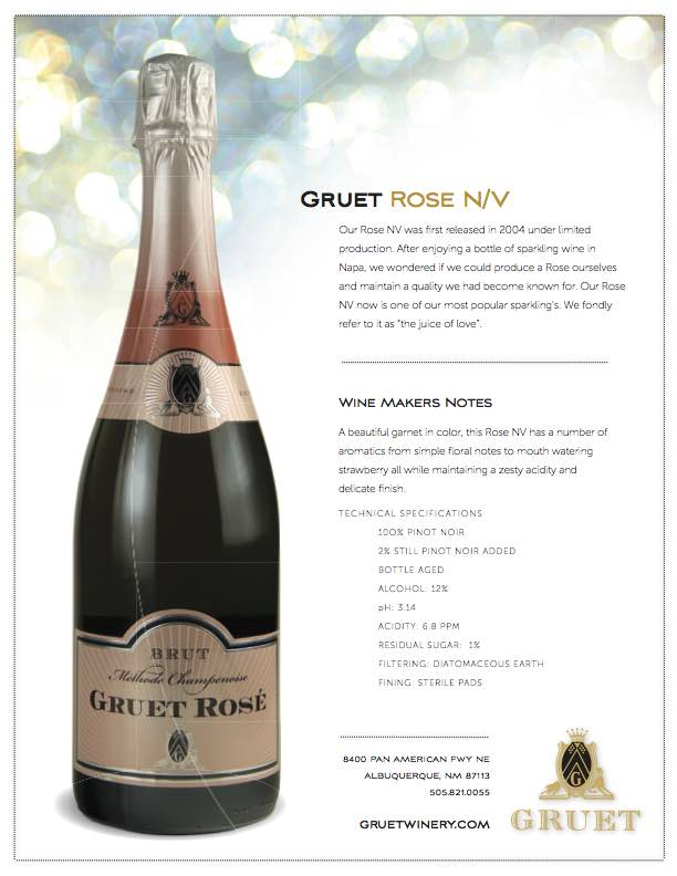 Gruet+Rose+NV - Tupelo Honey