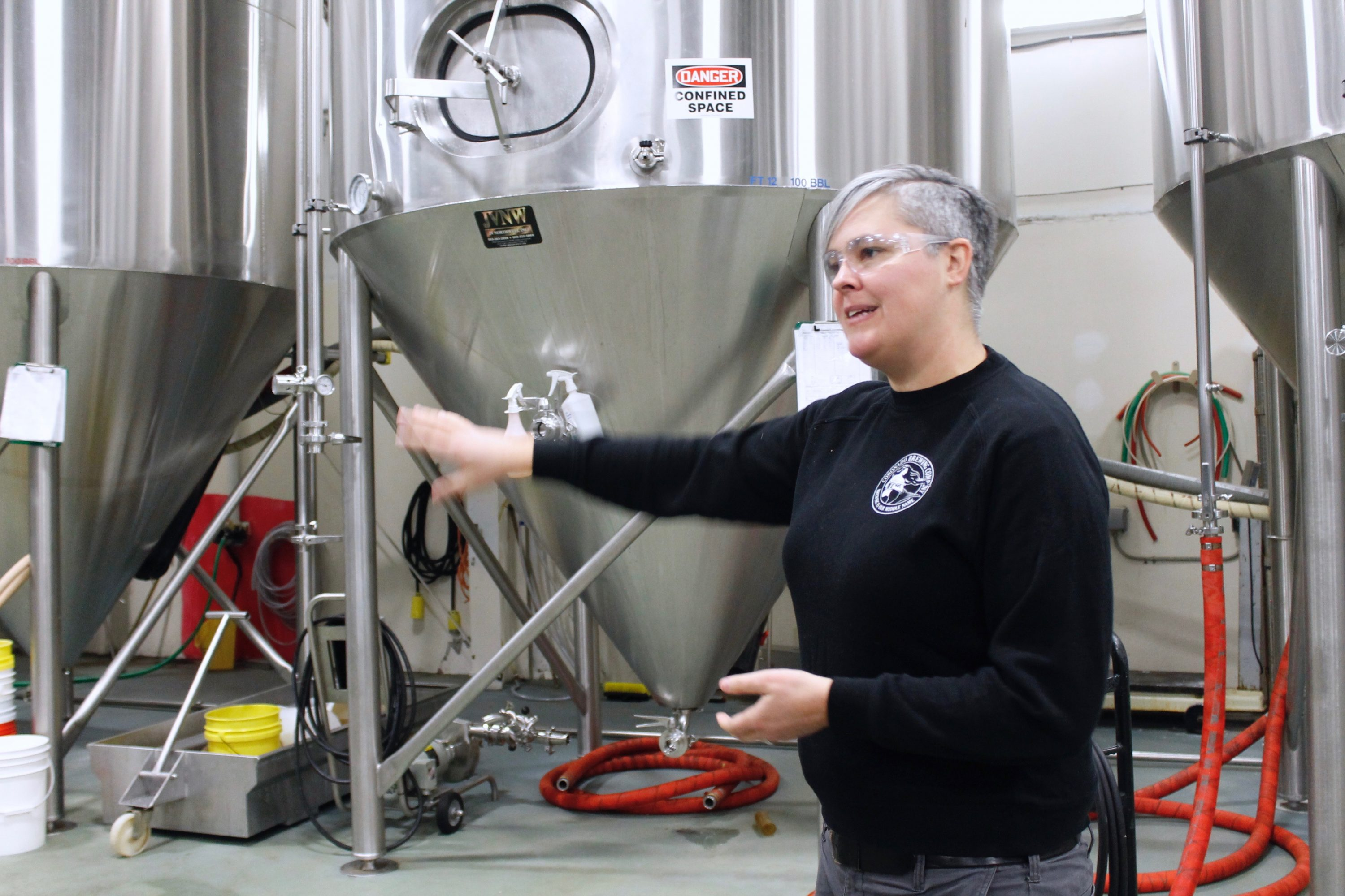 Highland Brewing Brewmaster Hollie Stephenson