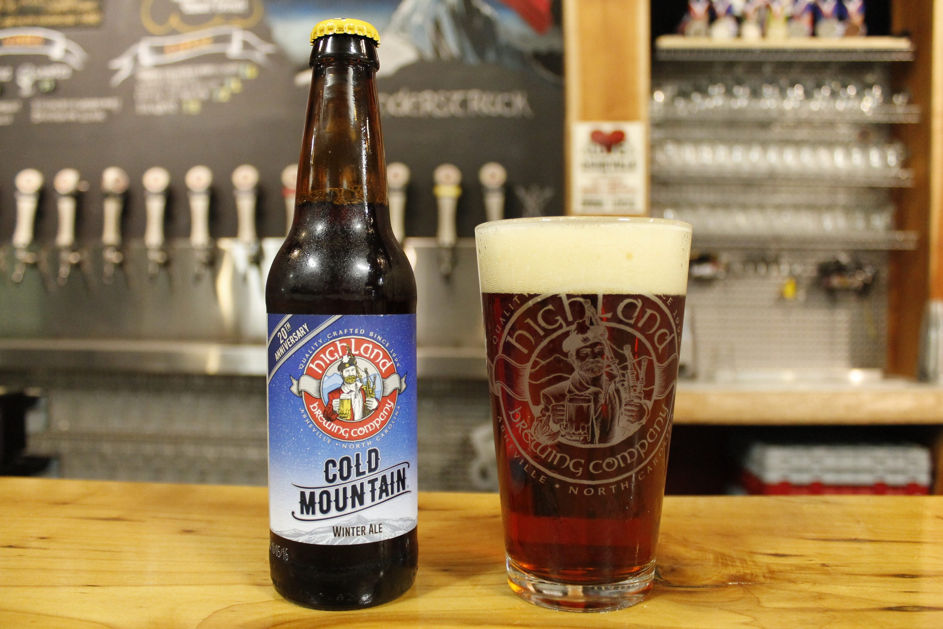 The 20th edition of Cold Mountain Winter Ale