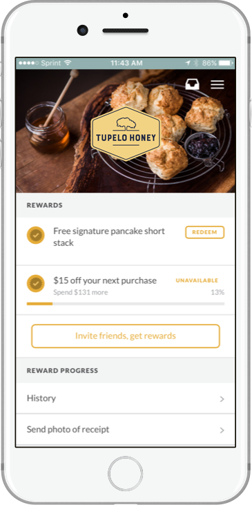 Tupelo Honey iPhone Screenshot