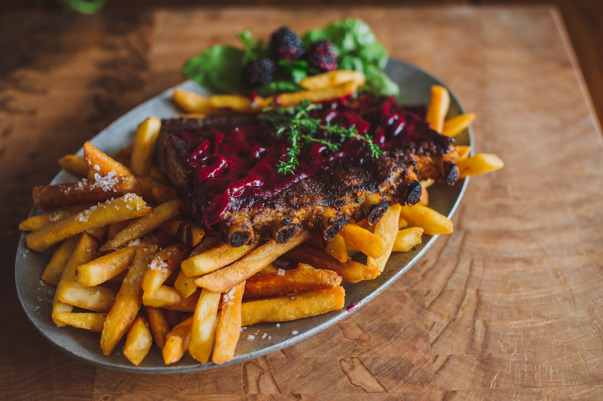 Southern Restaurant Charlotte Tupelo Honey Cafe French Fries 2000 150 Gr Steakhouse Salad Blackberry Habanero Ribs