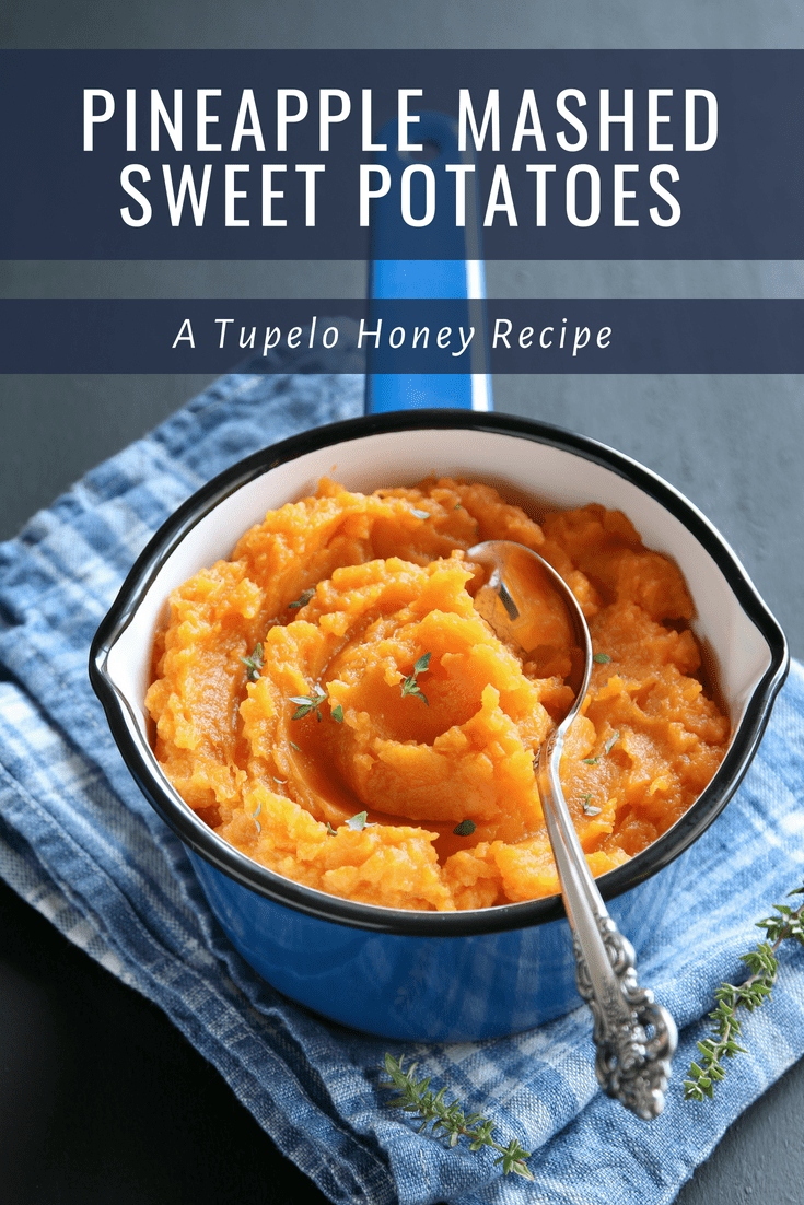 Pineapple Mashed Sweet Potatoes | Southern Restaurant & Bar