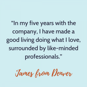 James from Denver quote